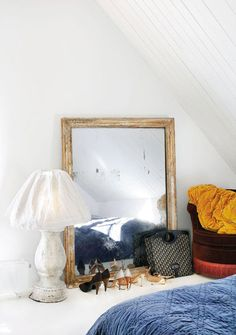 Scandinavian home gets a shabby chic makeover