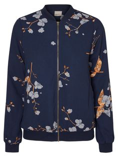 Bomber from VERO MODA. Wear over a cute pleaded skirt or ripped jeans.