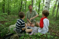 Telling a Story in the Woods