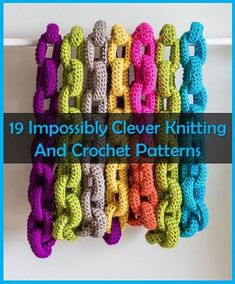 **19 Impossibly Clever Knitting And Crochet Patterns