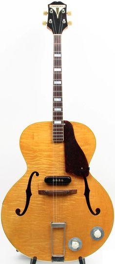 1940 Epiphone Zephyr Tenor Guitar --- https://www.pinterest.com/lardyfatboy/