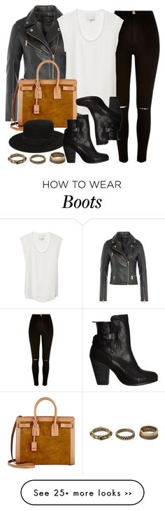 """Style #9088"" by vany-alvarado on Polyvore featuring River Island, Karl Lagerfeld, 3.1 Phillip Lim, Yves Saint Laurent, rag & bone and Forever 21"
