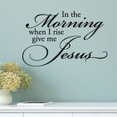Found it at Wayfair.ca - Quotes™ Give Me Jesus Wall Decal