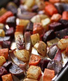 Roasted Veggies - so easy!