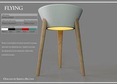 Flying è una lampadada tavolo elegante e leggera,diffonde una gradevole luce tramitei due fori del paralume. Stuttura portante in acero.