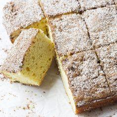 Recipe: Greek Yogurt Cinnamon Coffee Cake | Skinny Mom | Where Moms Get the Skinny on Healthy Living