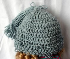 Children's Cabbage Patch Hat by TheShantiKnits on Etsy