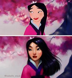 Компания Disney подарила миру множество женских персонажей, и одними из самых популярных среди них оказались принцессы. Первой диснеевской принцессой стала Белоснежка: мультфильм о ней вышел 81 год назад — в 1937 году. Изабель Стауб (Isabelle Staub) — художница из Пенсильвании, которая так перерисовала своих любимых героинь, что кажется, будто мультфильмы о них вышли на широкий экран совсем недавно. Они не только выглядят по-современному, но и радуют глаз яркими цветами и четкими линиями…