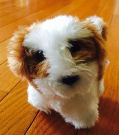 American Girl Kanani Barksee Dog Pet Animal Plush Puppy Retired 2011 Brown White  | eBay