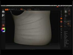 Zbrush : Fabric Sculpting Techniques for Zbrush - YouTube