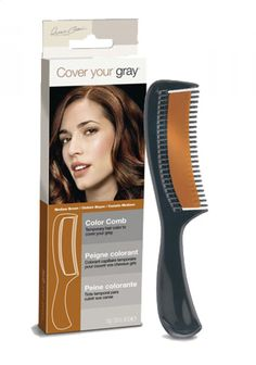 Cover Your Grey Medium Brown Colour Comb - Cover Your Roots - Hair Care