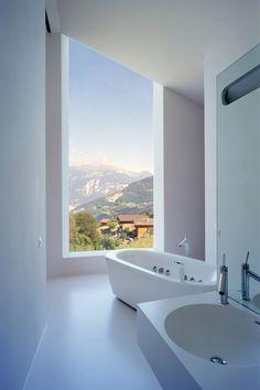 "thelavishsociety: ""Martinho House Bathroom by Bonnard Woeffray Architectes """