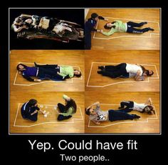 Titanic ending --- could have been different - share the space!!