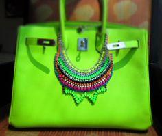 lime green, neon