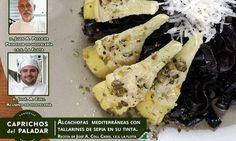 http://caprichosdelpaladar.es/receta-de-alcachofas-mediterraneas-con-tallarines-de-sepia-en-su-tinta/
