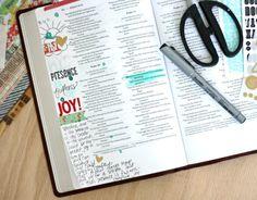 Art Bible journaling page by Brenda Weaver at Sweet Paper Treats.