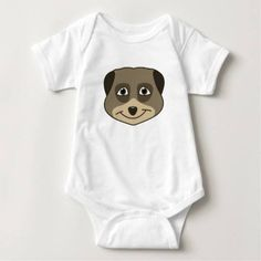 (Smiling meerkat design. t-shirt) #Animal #Cartoon #Child #Comic #Cute #Design #Emoji #Emoticon #Express #Expression #Kid #Layout #Meerkat #Smile #Suricata #Template #Vector is available on Funny T-shirts Clothing Store   http://ift.tt/2bDKNo6