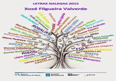 Letras Galegas 2015 Google, May 17, Amor, Dates, Peace, Literatura, White People, Artists, Manualidades