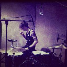 george in studio, 2012.