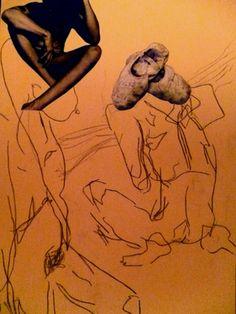 "Saatchi Online Artist Leni Smoragdova; Collage, ""+4+64+65454"" #art"