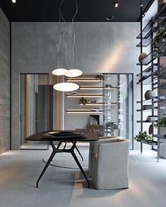 Showroom Bruxelles | Rimadesio nel mondo: porte scorrevoli in vetro e alluminio, librerie, cabine armadio