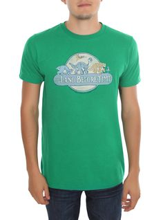 The Land Before Time Retro Logo T-Shirt | Hot Topic