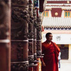 Kumbum monastery in #Tibet (#西藏) 📷 photo by @hromotska