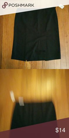 Maurices black pencil skirt black 8 Maurices black pencil skirt 8 side zip stretch maurices  Skirts Pencil