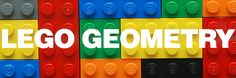 I made up Lego Geometry to get my nephew excited about area and perimeter. Kids can create big areas by putting legos side by sid. Lego Math, Math Classroom, Classroom Decor, Math For Kids, Fun Math, Math Resources, Math Activities, Homeschool Math, Homeschooling