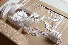 Advertising Briefs Turned into Paper Art – Fubiz™