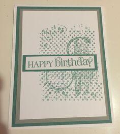 Birthday Card - Deb Furnans - Stampin' Up