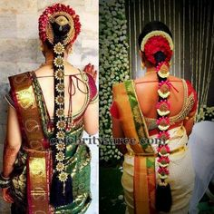 Brides in Simple Work Blouses   Saree Blouse Patterns