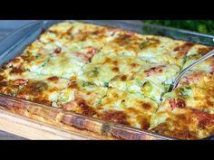 DELICIOS! ȘI SĂNĂTOS! Nu voi opri niciodată să gătesc acest aliment. - YouTube Veg Dishes, Vegetable Side Dishes, Savoury Dishes, Vegetable Recipes, Chicken Recipes, Brocolli And Cauliflower Casserole, Food Plus, Cooking Recipes, Healthy Recipes