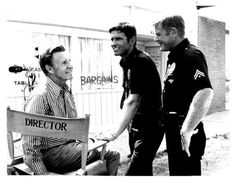 Kent and Marty with Ozzie Nelson Martin Milner, Adam 12, Los Angeles Police Department, Ricky Nelson, Just Believe, Classic Tv, On Set, Love Of My Life, Favorite Tv Shows