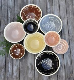 Great Neutrals For The Wedding Bowls