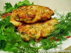 Рубленные котлеты из куриного филе (без майонеза) - понижаем калорийность!