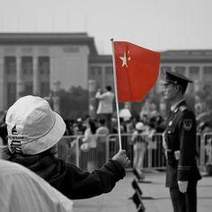 I'd #ridecolorfully around Tiananmen Square.