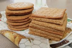 There is no contest - these graham crackers are way better than the gluten-filled store bought version!  There will be s'mores tonight around the bonfire!!!