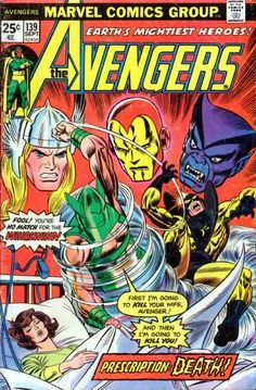 Growing Pains: Avengers 139  Auction your comics on http://www.comicbazaar.co.uk