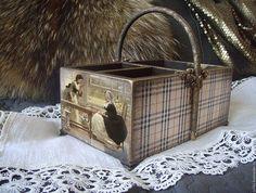 Купить Шкатулка. Карандашница. - бежевый, сувениры и подарки, оригинальный подарок, оригинальный сувенир, для дома и интерьера
