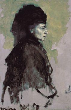 Romaine Brooks, Dame en Deuil, c. 1910