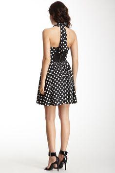 Polka Dot Halter Dress. Love it!