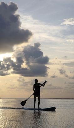 Paddleboarding in Pensacola Beach, Florida #ExplorePcola