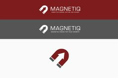 Create a new, flat, magnetic logo for Magnetiq Marketing by morday