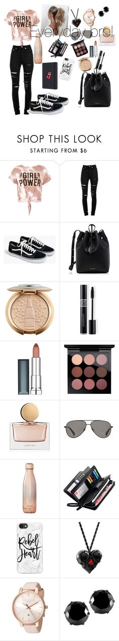 """""""my everyday look"""" by sugarbear121004 ❤ liked on Polyvore featuring Sans Souci, Yves Saint Laurent, J.Crew, Mansur Gavriel, Christian Dior, Maybelline, Jason Wu, Vilebrequin, Love Couture and S'well"""