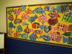 Art in the Big Green Room: 1st grade