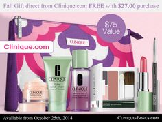 Violets or Pinks? Free gift with $27.00 now at Clinique website. More info: http://clinique-bonus.com/other-us-stores/
