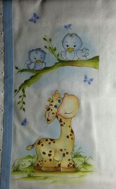 Cidinha travain Baby Painting, Painting For Kids, Fabric Painting, Pin Up Drawings, Cartoon Drawings, Cute Drawings, Machine Embroidery Projects, Embroidery Patterns, Baby Puffs