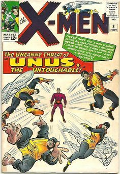 Uncanny X-Men 8 Marvel 1964 FN Unus Magneto Mastermind Jean Grey Marvel Comic Books, Marvel Characters, Comic Books Art, Comic Art, Book Art, Book Characters, Cartoon Characters, X Men, Jean Grey