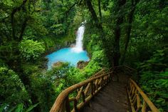 rio celeste- the stunning blue water river